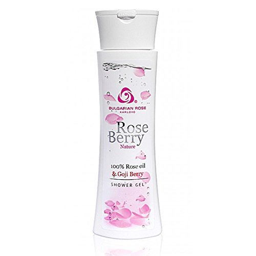 Roseberry – Gel exfoliante pour le corps 100% Rose and Goji Berry