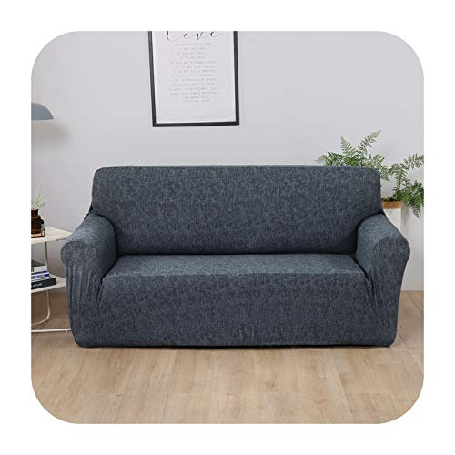 Funda de sofá elástica geométrica para sala de estar moderna esquinera seccional sofá funda de sofá cubierta de silla protector 1/2/3/4 plazas-gris oscuro 1-plaza-90-140cm