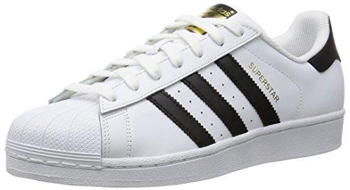 adidas Superstar W, Scarpe da Ginnastica Donna, Bianco (Ftwr White/Core Black/Ftwr White Ftwr White/Core Black/Ftwr White), 38 EU