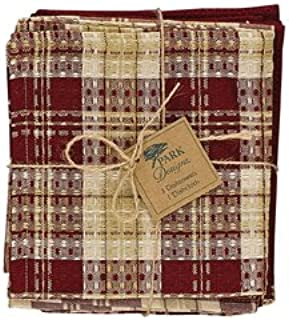 1 Dishcloth Park Designs Tanner Set 3 Dishtowel