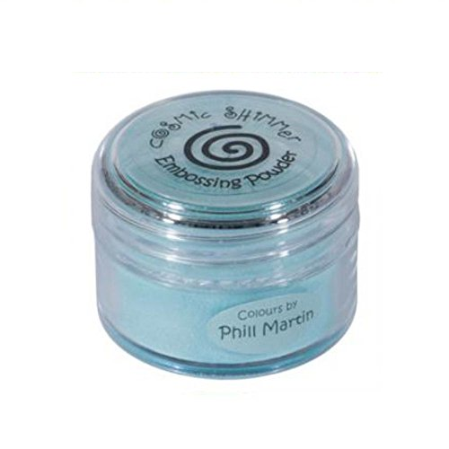 Cosmic Shimmer Phill Martin Embossing-Puder Decadent Teal, 20 ml