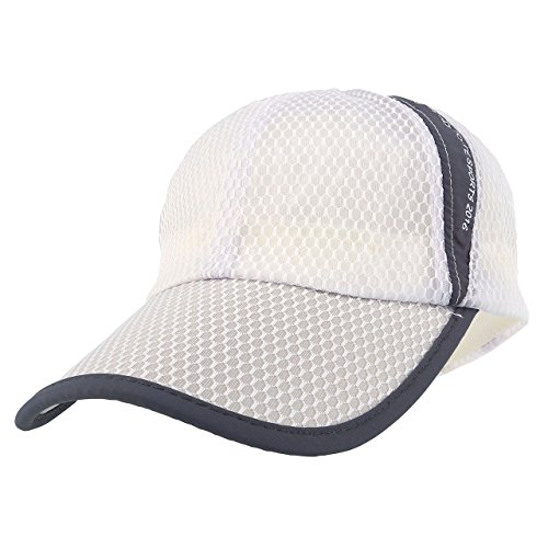 CHIC DIARY Baseball Cap dünn atmungsaktiv Basecap Unisex Kappe Snapback Baumwolle Schirmmütze Verstellbar Sport Outdoor