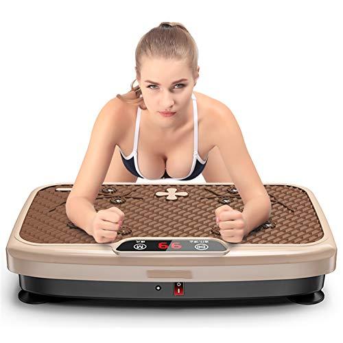 H-XH Pedana Vibrante Dimagrante Offerte 150 kg, Pedane Vibranti Piattaforma Fitness, Telecomando per Massaggio con Magnete Bruciagrassi Ad Alta Frequenza per Dimagrire E Tonificare Il Corpo