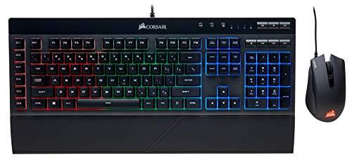 Corsair Gaming K55 + HARPOON RGB Gaming Keyboard and Mouse Combo