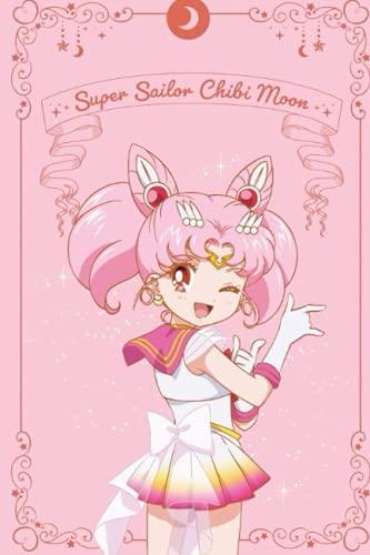Sailor moon anime sailor chibiusa chibi moon notebook journal 6x9 120 lined pages: Sailor moon anime sailor chibiusa chibi moon notebook journal 6x9 120 lined pages (Sailor Moon Notebooks Collection)