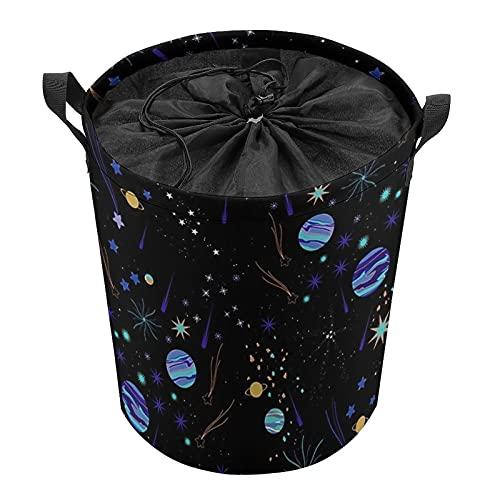 Cestas de lavandería premium con asas, cestas de almacenamiento de ropa, cestas de almacenamiento de vigas Pinterest Azulceleste