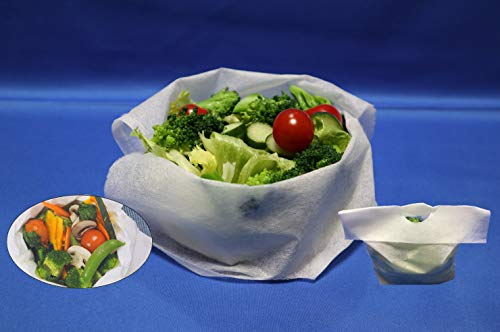 夏のセール中「野菜 蒸せますよ」ベジタブルスチームバッグ 10枚入 日本製 蒸し器 蒸し袋 野菜蒸し 蒸し野菜 (フジテレビめざましテレビ「キラビト」で紹介されました) (読売新聞夕刊で紹介されました)
