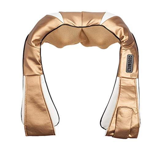 YXDEW Aparatos de Masaje eléctrica Hombro masajeador |Eléctrica Masaje del Cuello |Terapia de acupresión |El Cuello y el Hombro hacia atrás |Calefacción 3D |La tensión de Combate |Inicio/Oficina/c