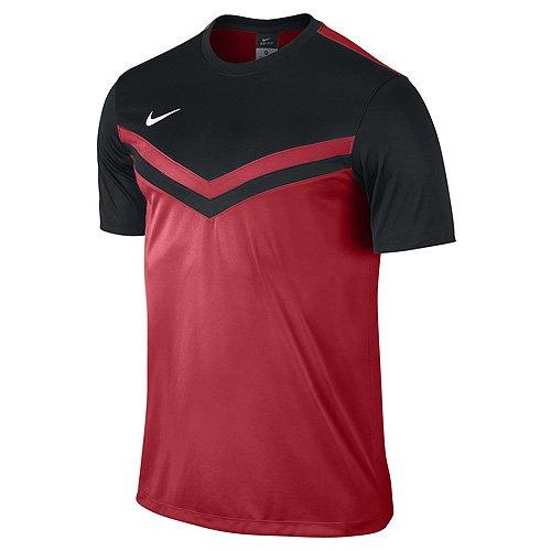 NIKE Herren Shirt Kurzarm Top Victory II Jersey, red/black, XXL, 588408-657