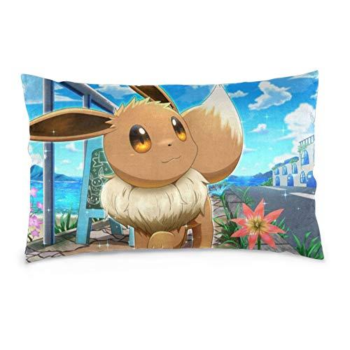 gvdsxgbfvhn Pillow Case Eevee Rectangular Pillowcases Throw Cushion Covers...