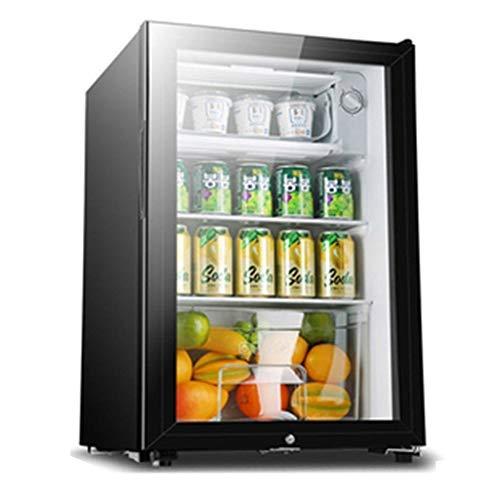 réfrigérateur 90L Refroidisseur de vin, de soirée de température réglable, Armoire de Restauration de Nourriture et de Boissons, Silencieux et économe en énergie