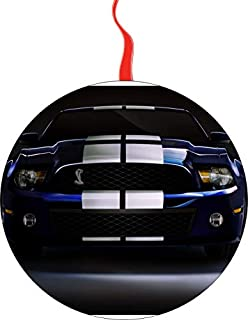 Mustang Cobra Gt Christmas Tree Holiday Ornament Printed Double- 2 Sided Decoration Great Unisex