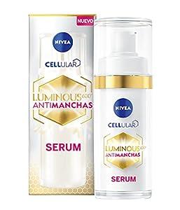 NIVEA Cellular LUMINOUS 630 Antimanchas Sérum Tratamiento Adecuado 1 x 30 ml, sérum facial con ácido hialurónico, sérum despigmentante para una piel más lisa y uniforme