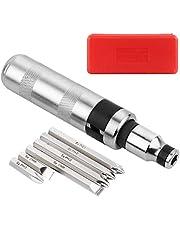 MAXPOWER Ratelschroevendraaier en bitset, 8-delige schroevendraaierset met verwisselbare draairichting
