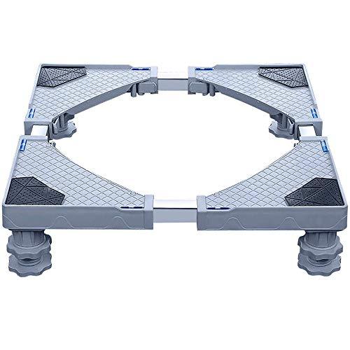 XWX Base Universal Mobile con 4 Patas Fuertes De Múltiples Funciones Base Ajustable For Secadora Ajustable Lavadora Y Nevera