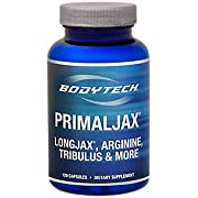 BodyTech PrimalJax with LongJax, Arginine, Tribulus More for Men's Health, 30 Servings (120 Capsules)