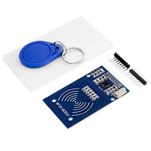 AZDelivery RFID Kit RC522 mit Reader, Chip und Card 13,56MHz SPI kompatibel mit Arduino und Raspberry Pi inklusive E-Book!