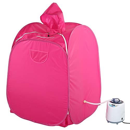 Vaporizzatore per sauna da bagno, gonfiabile, con copricapo, per casa, sauna a vapore, con generatore di vapore, 1,5 litri, Personal Spa Body