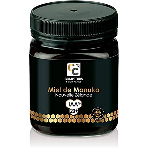 COMPTOIRS ET COMPAGNIES   MIEL DE MANUKA ACTIF   IAA20+ (MGO829+)   250 Grammes