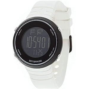 DeTomaso DT2002-A – Reloj Digital de Cuarzo Unisex con Correa de