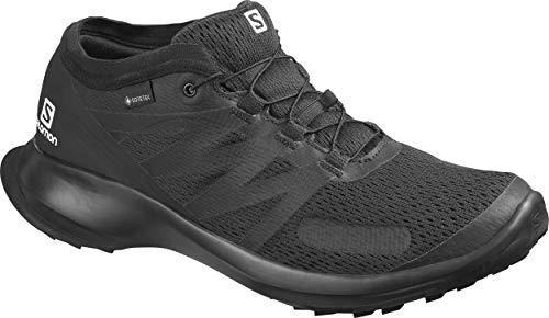 Salomon Herren Shoes Sense Flow GTX Laufschuhe, Schwarz, 42 2/3 EU