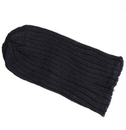 Demarkt® Bonnet tricoté pour Homme - Couleur Noir