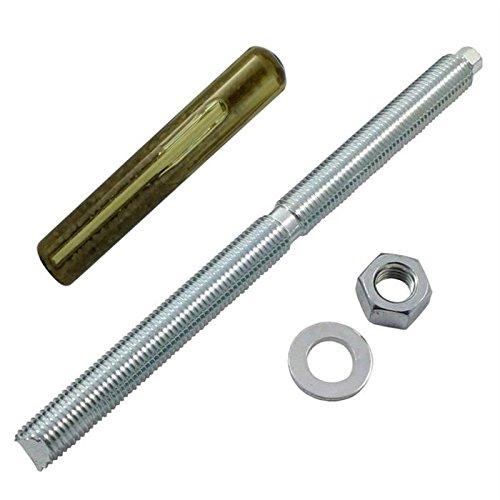 Ankerstange M16 x 230mm + Verbundankerpatrone Schwerlastdübel ; verzinkt