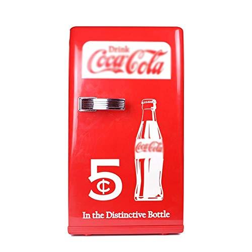 ID Q-L Coca-Cola 12L tragbare Gefrierschrank Haushaltskühl Kleiner Kühlschrank Auto Kühlschrank