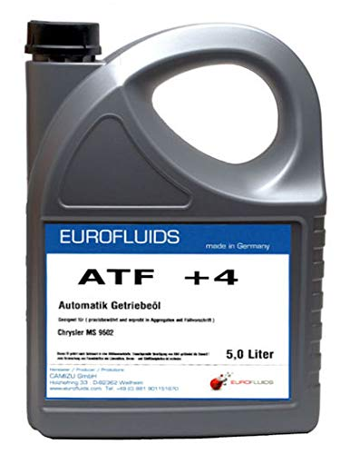 Eurofluids ATF +4 Automatikgetriebeöl ATF Öl geeignet für Chrysler MS-9602 Jeep Dodge Plymouth Eagle | 5-Liter-Kanister