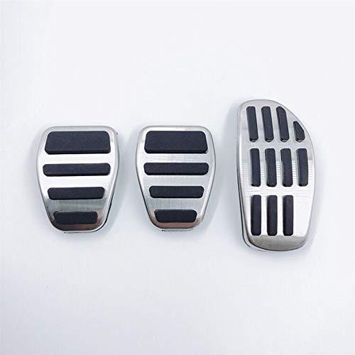 ZHHRHC Auto Fuß Kraftstoffpedal Gaspedal Bremse Kupplungspedale Abdeckung, Für Nissan Qashqai j11 2014 2015 2016 2017 2018 2019