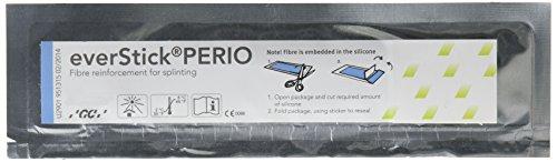GC America 900832 everStickPERIO Fiber Reinforcements, 1 cm x 8 cm Bundles