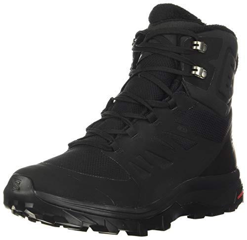 Salomon OUTblast TS CSWP, Zapatillas de Senderismo Hombre, Color: Negro (Black/Black/Black), 46 EU