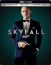 Skyfall 007 James Bond Limited Edition Steelbook 4k Ultra HD Blu Ray Digital