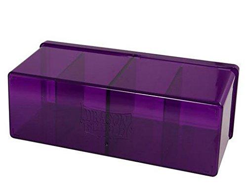 Arcane Tinmen 20309 - Sammelkartenspielzubehör - Dragon Shield 4 Compartment Storage Box, lila