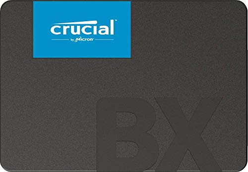 Crucial BX500 CT2000BX500SSD1(Z) SSD Interno, 2 TB, 3D NAND, SATA, 2.5 Pollici, Frustration Free Packaging, 540/500 MB/s