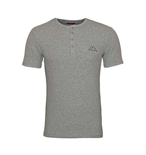 Kappa Ucola T-Shirt, Maglietta Unisex-Adulto, Grigio, M