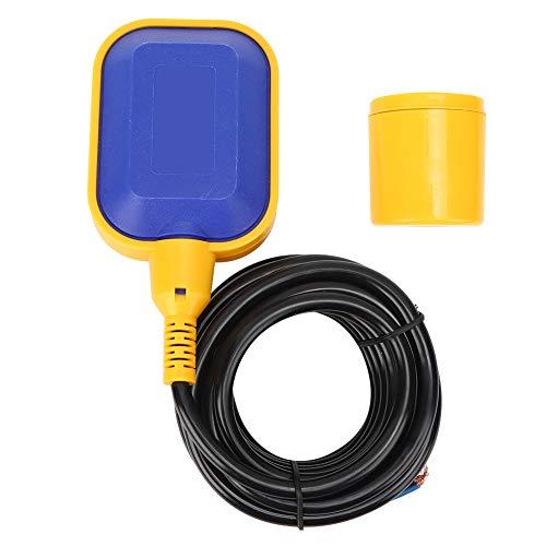 BERM Schwimmerschalter Wärmebeständigkeit FQ2 Wasserstandssensor Automatischer Kabelwasserstandsregler für Tank, Pumpe(4M)