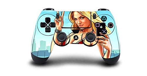 Homie Store 1pc Grand Theft Auto V GTA 5 PS4 Skin Sticker Decal for Sony PS4 Playstation 4 Dualshouck 4 Game PS4 Controller Sticker - A5 QBTM0709