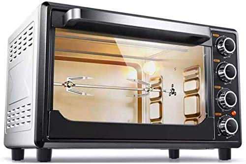 Mini horno Horno de hogar Multifuncional 32L Capacidad grande 1600W Alta potencia 120min Timing Máquina de hornear para hogar 220V Herramientas de cocina