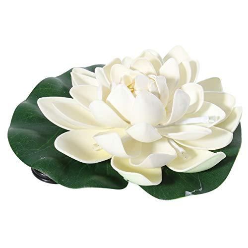 OSALADI Luci galleggianti del loto led, impermeabile galleggiante fiore di loto LED luce, acqua lampada della deriva per stagno giardino (luce colorata)