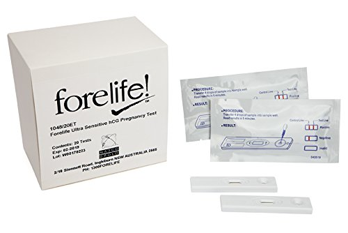 Find Discount Forelife™ Professional Ultra Sensitive Pregnancy Test 20/Box