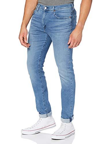 Levi's Herren 512 Slim Taper Tapered Fit Jeans, Blau (Cedar Light Mid Overt ADV Tnl 0492), 36W / 34L