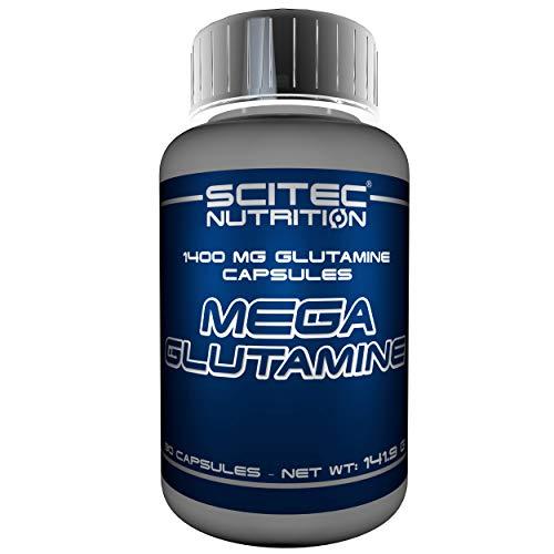 Scitec Nutrition Mega Glutamin Aminoácidos - 90 cápsulas