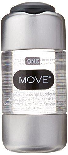 One Condoms OneMove Lubricant, 100 Ml
