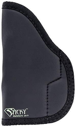 Sticky Holsters Lg-3 Large Lg-3, Black