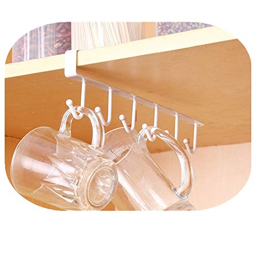 Dragon Hanging Hook Storage Rack Küche Organizer Halter Hanger by (Weiß)