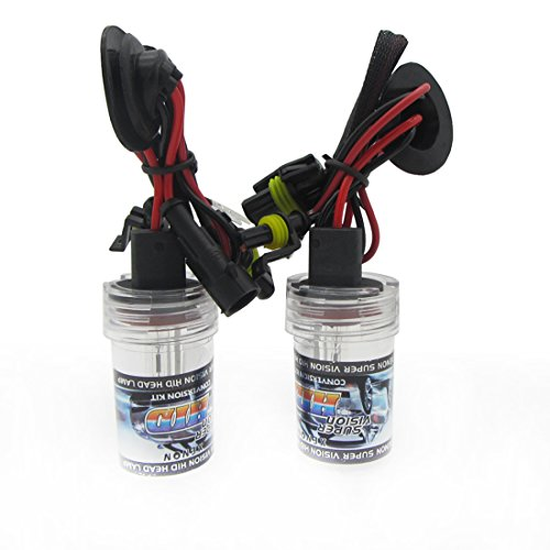 WOVELOT 2 x H8 / H9 / H11 Ampoule de Rechange Xenon HID Phare a 2 Ampoules Lampe 35W 6000k