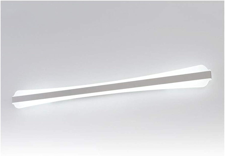 William 337 LED Spiegel Frontleuchte Spiegel Kabinett Licht Badezimmer Make-Up Licht Schlafzimmer Nachttischlampe Hotel Flur Wandleuchte [Energieklasse A +] (Farbe   Weies Licht-40 cm)