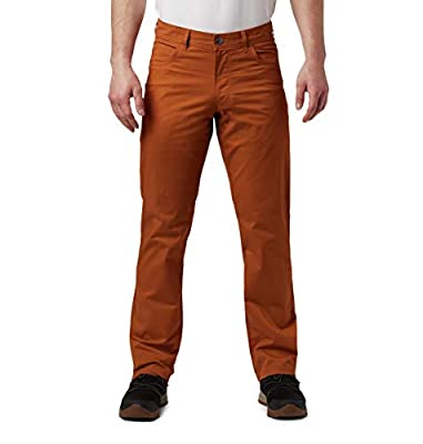 Columbia Men's Rapid Rivers Pant, Sun Protection, Caramel, 36x30