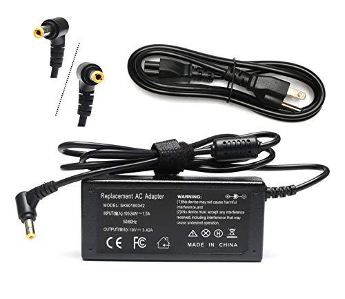 19V AC Adapter for Asus 22'' 23'' 24'' 27'' VX238H VX238H-W VX228 VX228H Backlight LED G-SYNC Gaming Monitor MX279H VX239H VX279H MX239H ASUS ROG Swift PG278Q PG279Q WQHD Supply Cord